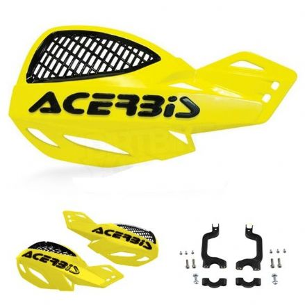 Acerbis Uniko Hanguard Yellow black